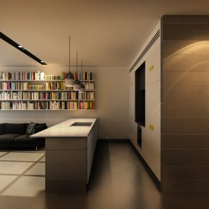 living-kitchen-stairs